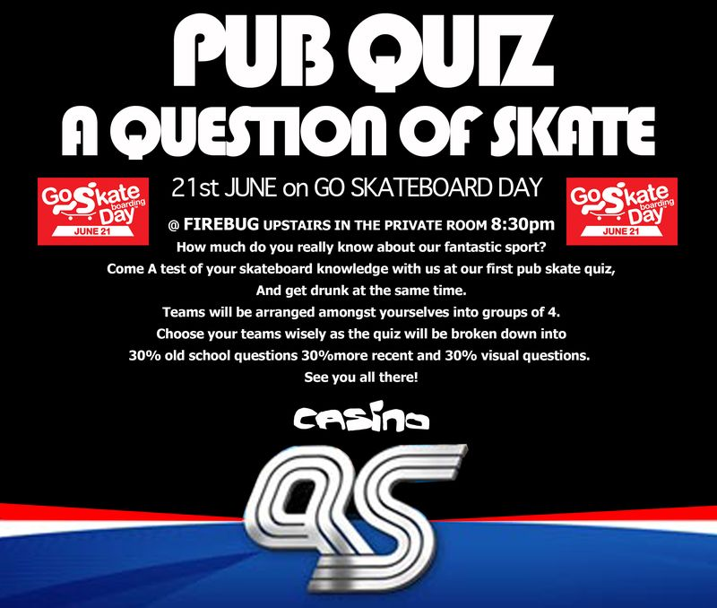 Aquestion of skate